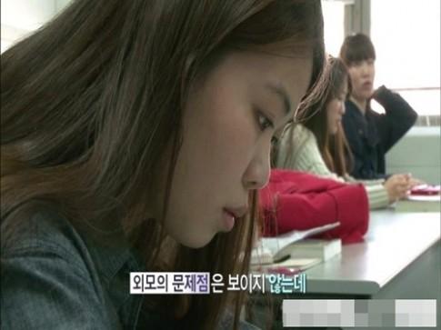 Cô gái Hàn xinh đẹp: ngực xệ kinh ngạc