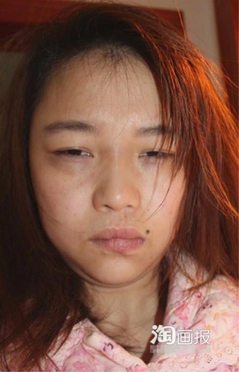 Cô gái xấu thành xinh sau 5 phút make-up