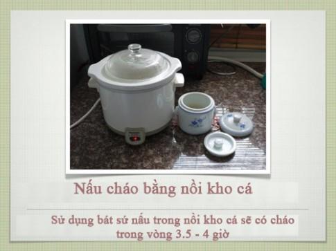 Công thức nấu cháo siêu chuẩn cho con