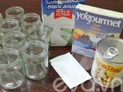 Công thức sữa chua từ men probiotic cho bé