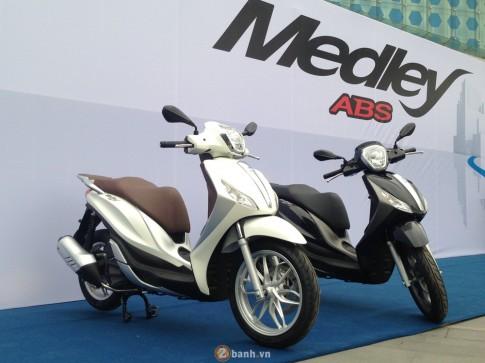 Đánh giá Piaggio Medley ABS - giá xe và chi tiết hình ảnh