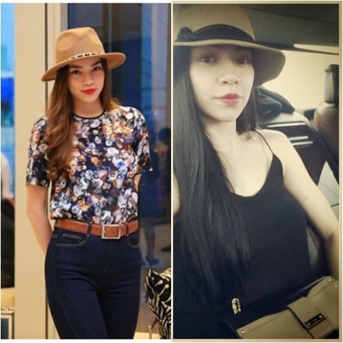 Điểm danh 5 style đụng hàng của Hà Hồ, Thanh Hằng