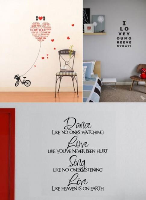 Đồ nội thất dễ thương cho ngày Valentine