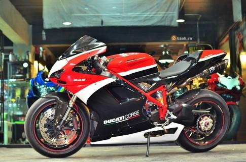 Ducati 848 Evo Corse SE bản độ chất lừ của biker Thái Lan