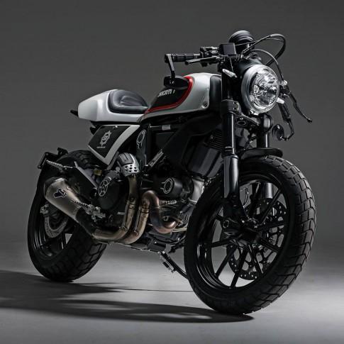 Ducati Scrambler đầy cá tính và sexy với phong cách Cafe Racer