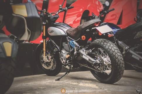 Ducati Scrambler độ siêu khủng của một biker Hà Thành
