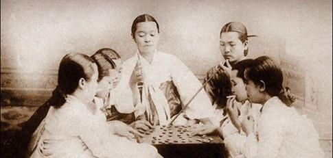 Dung nhan người Hàn Quốc 100 năm trước
