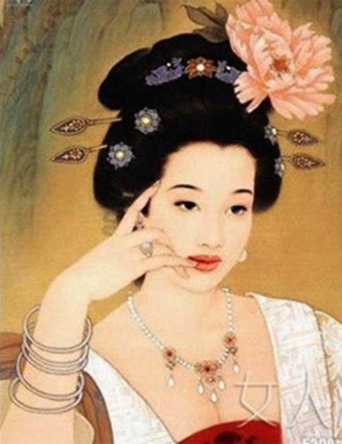 Dương Quý Phi ăn quả vải để làm đẹp