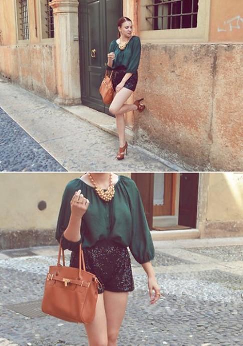 Eva Icon: Quý cô công sở làm điệu cùng khăn