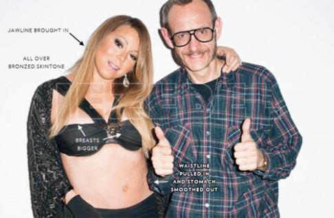 """Eva """"soi"""" 15/7: Thân hình xồ xề của Mariah Carey"""