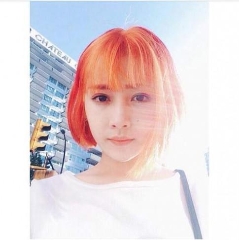 Fans phản ứng với tóc mới của Chi Pu