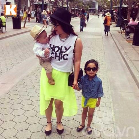 Gặp mẹ bé gốc Việt style nhất internet