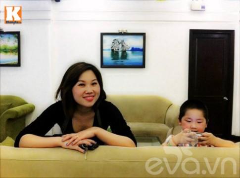Gặp mẹ có con 12 tháng biết tiếng Anh