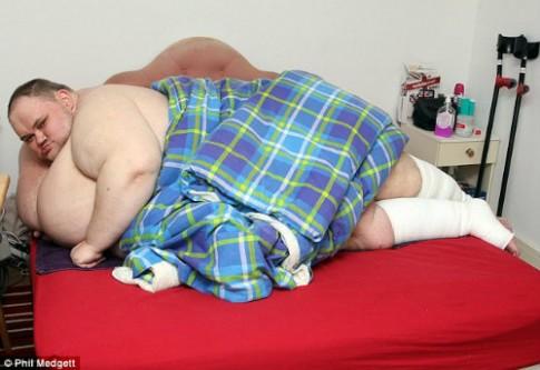Gặp người đàn ông béo nhất nước Anh
