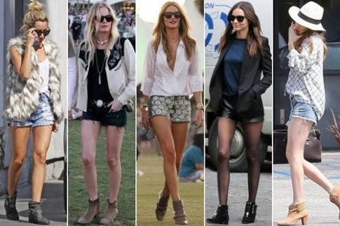 Hè cực chất với bộ đôi anke boot và quần sooc