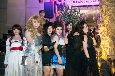 Hóa trang Halloween thú vị như sao Việt