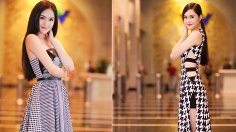 Hoàng Anh giảm 15kg trong 2 tháng để thi Hoa hậu Việt Nam