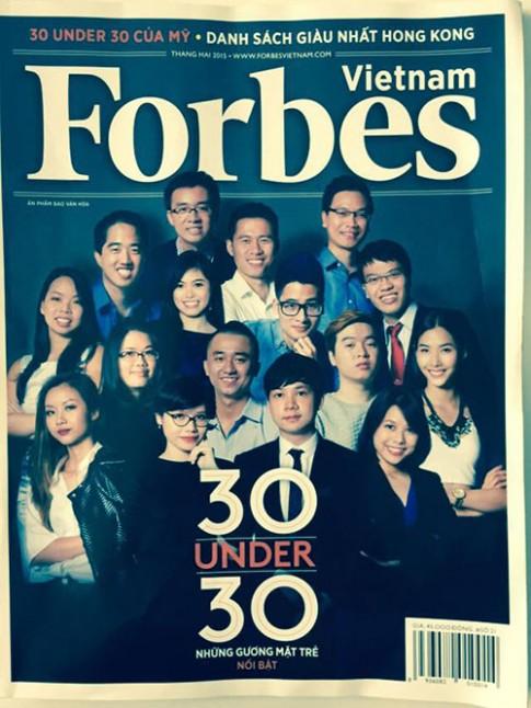Hoàng Thùy bất ngờ được Forbes Việt Nam vinh danh