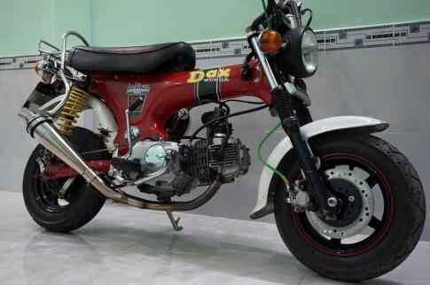 HONDA DAX 50cc thỏa mãn thú chơi xe cổ trong thời hiện đại.