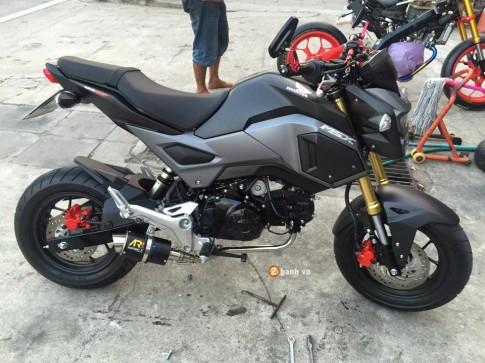 Honda MSX 2016 do nhe cung vai mon do choi do kieng