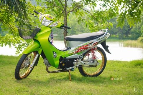 Honda Wave 125R độ thể thao và phong cách của dân chơi Thái