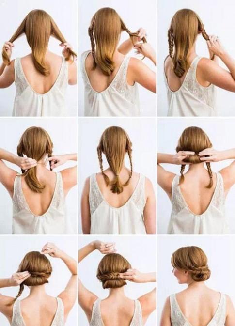 Hướng dẫn tạo các kiểu tóc tết búi đẹp cho bạn gái