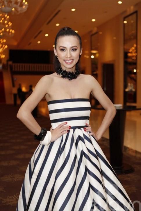 Huyền Ny 'đụng' váy hiệu với Phạm Băng Băng