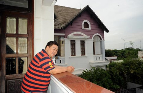 Không gian sống của diễn viên hài Minh béo