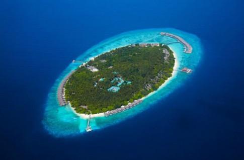 Kiến trúc resort ở thiên đường nghỉ dưỡng Maldives