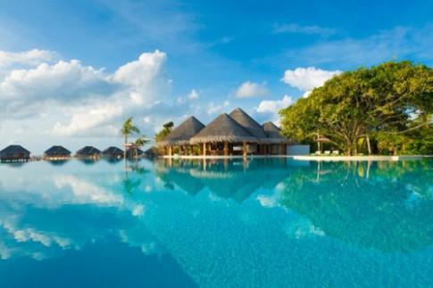 Kiến trúc resort ở thiên đường nghỉ dưỡng Malpes