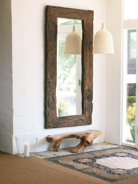 Kiêng kỵ treo gương đối diện cửa nhà