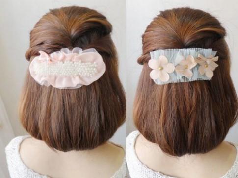 Kiểu tóc cuộn tuyệt đẹp cho bạn gái vụng