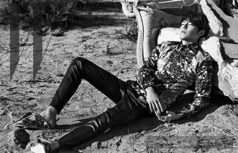 Kim Woo Bin quyến rũ trong bộ ảnh của W Korea