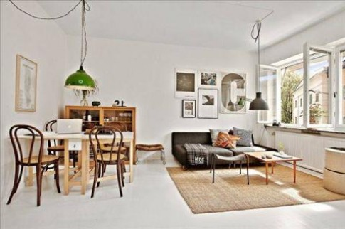 Làm rộng căn hộ 35 m2 với thiết kế gọn mắt
