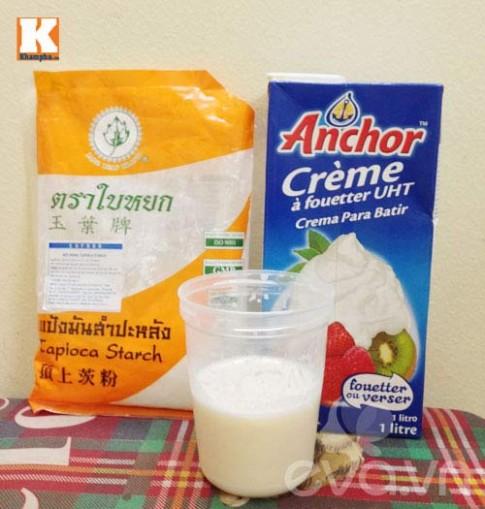 Làm váng sữa cho con trong 15 phút