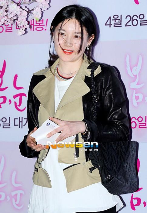 Lee Young Ae giảm cân bằng nho