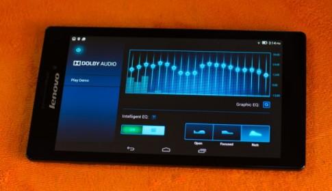 Lenovo Tab 2 A7-10: Khi sức mạnh âm thanh lên ngôi trong phân khúc phổ thông