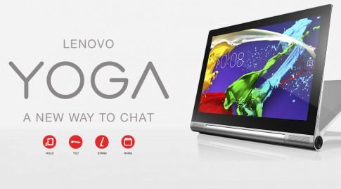 Lenovo Yoga Tablet 2: Thay đổi và tiện dụng
