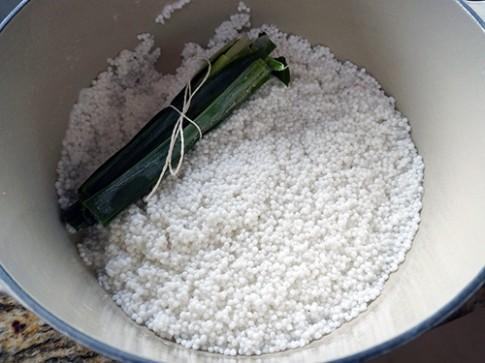 Mát lạnh với chè bột báng thơm ngon
