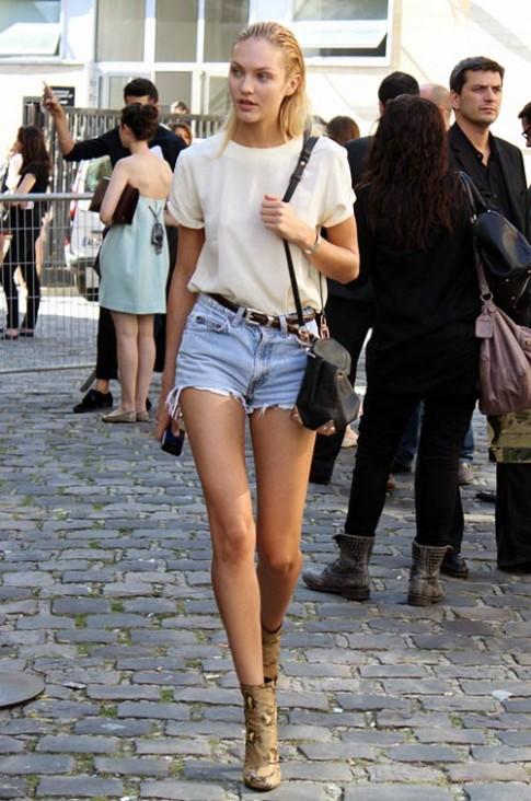 Mê đắm vẻ quyến rũ trên phố của Candice Swanepoel