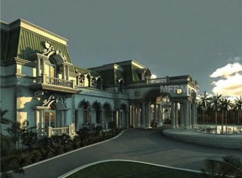 Mê hồn lâu đài chục triệu đô đẹp kiểu Pháp