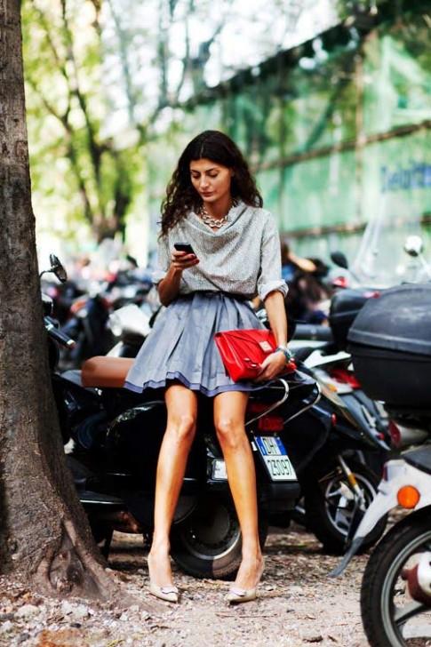 Mê mẩn nét thanh lịch của BTV Vogue