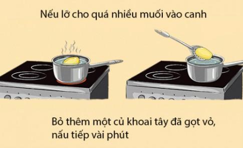 Mẹo biến việc làm bếp trở nên cực kỳ đơn giản