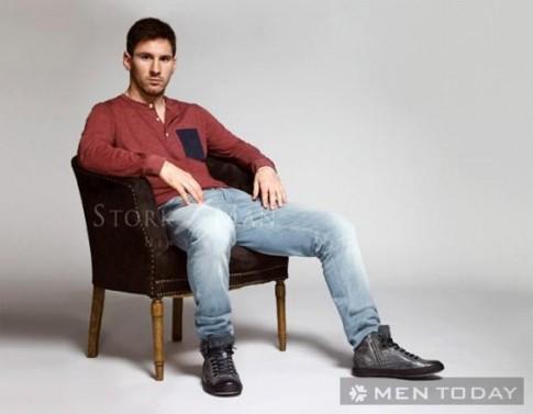 Messi bụi bặm và nam tính trong bộ ảnh thời trang