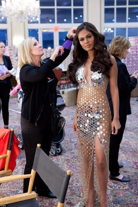 Mỹ nhân thế giới đã quy tụ tại Hoa hậu Hoàn vũ 2014