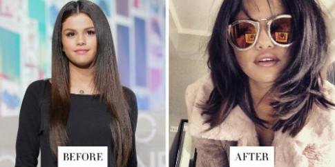 Mỹ nhân thế giới thay đổi kiểu tóc chào năm mới