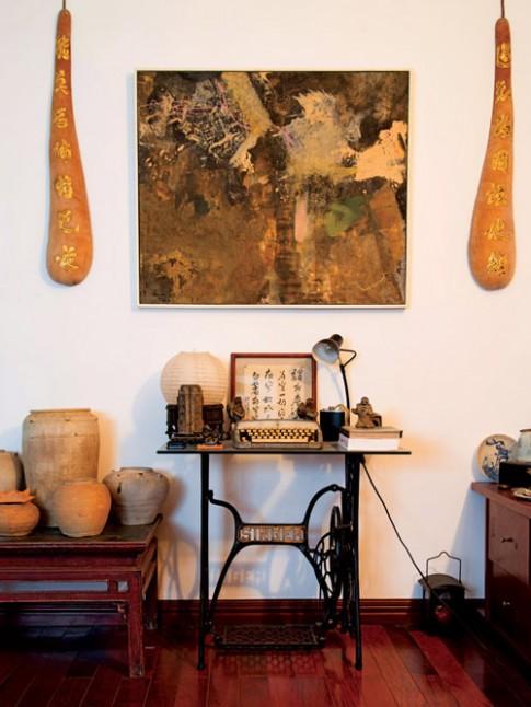 Ngôi nhà ngẫu hứng của họa sĩ Quang Minh