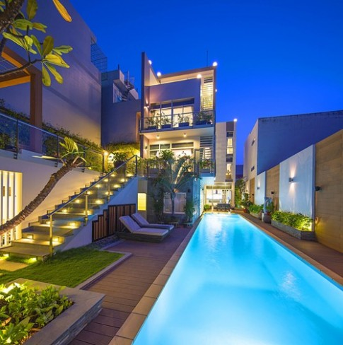 Ngưỡng mộ nhà Sài Gòn đẹp như tranh
