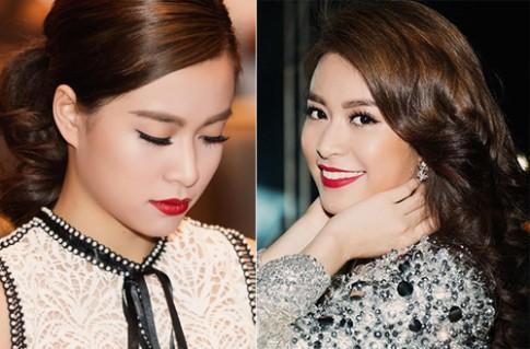 Nguyễn Thị Huyền, Hoàng Thùy Linh trang điểm đẹp nhất tuần