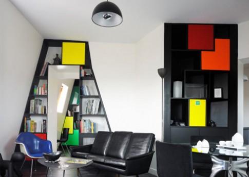 Nhà lấy cảm hứng từ game xếp hình Tetris